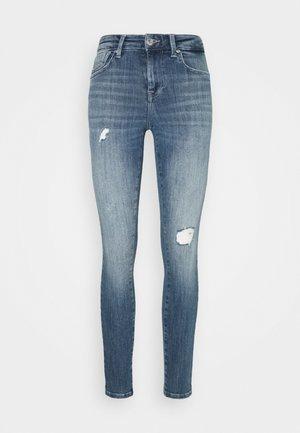 ONLPOWER PUSH UP DESTROY - Jeans Skinny - medium blue denim