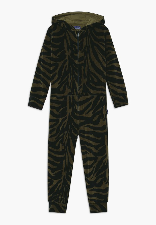 BOYS ONESIE - Pyjamas - green