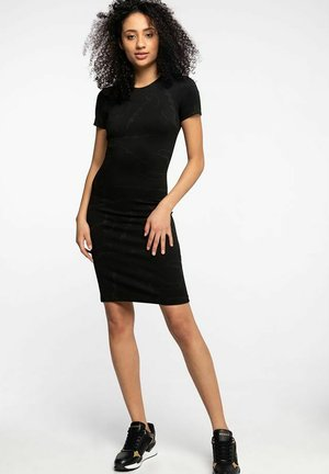 RHODA - Shift dress - black