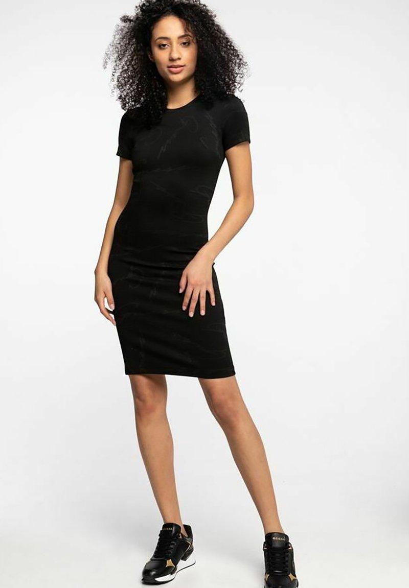 Guess - RHODA - Shift dress - black