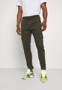 Brave Soul - Pantaloni cargo - light khaki - 0