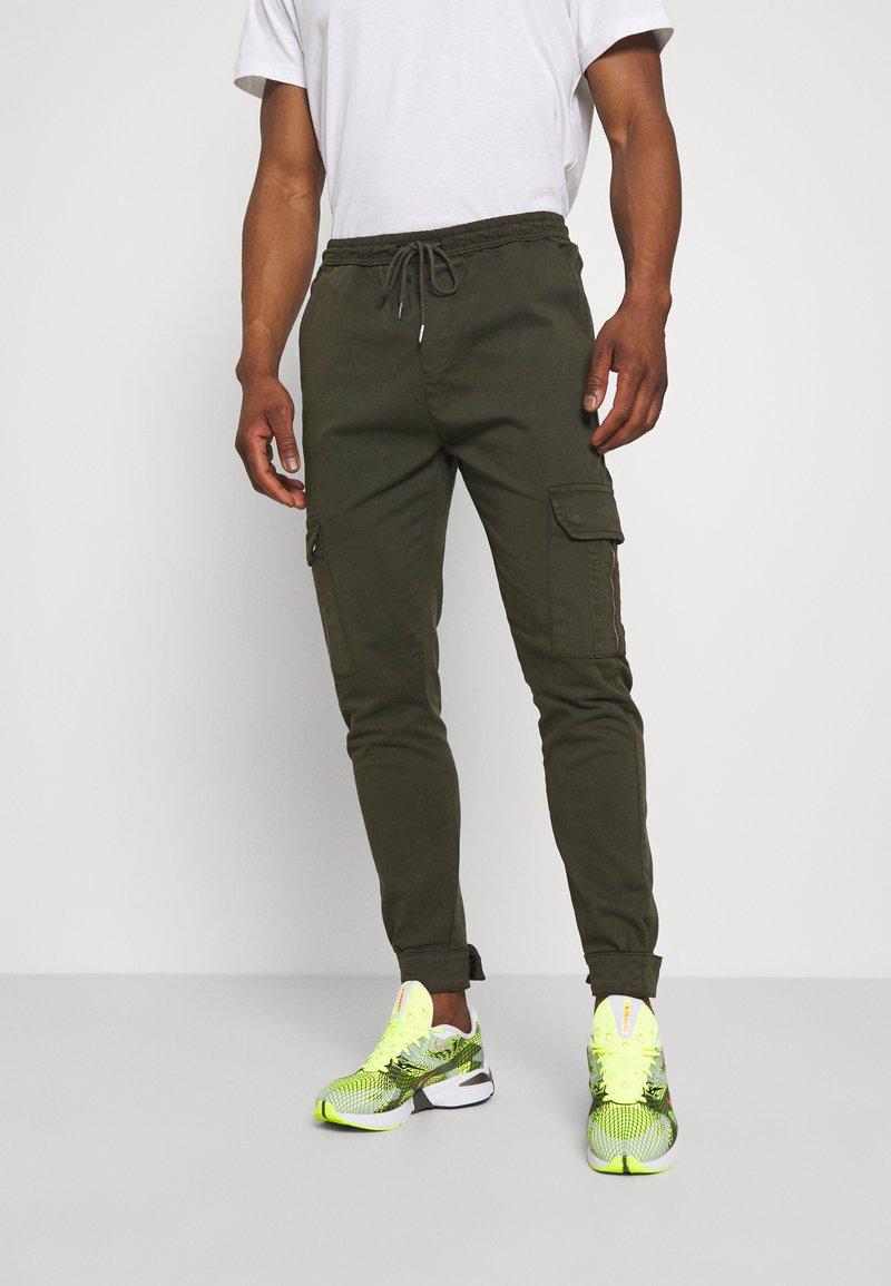 Brave Soul - Pantaloni cargo - light khaki