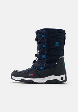 KIDS NORDKAPP WINTER BOOTS UNISEX - Vinterstøvler - navy/medium blue