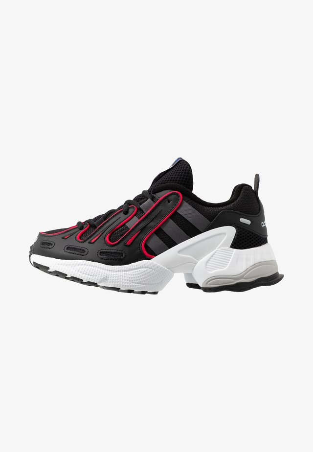 EQT GAZELLE RUNNING-STYLE SHOES - Trainers - core black/grey six/energie pink
