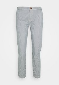 Pepe Jeans - MAURA STRIPE - Spodnie materiałowe - blue/white - 3