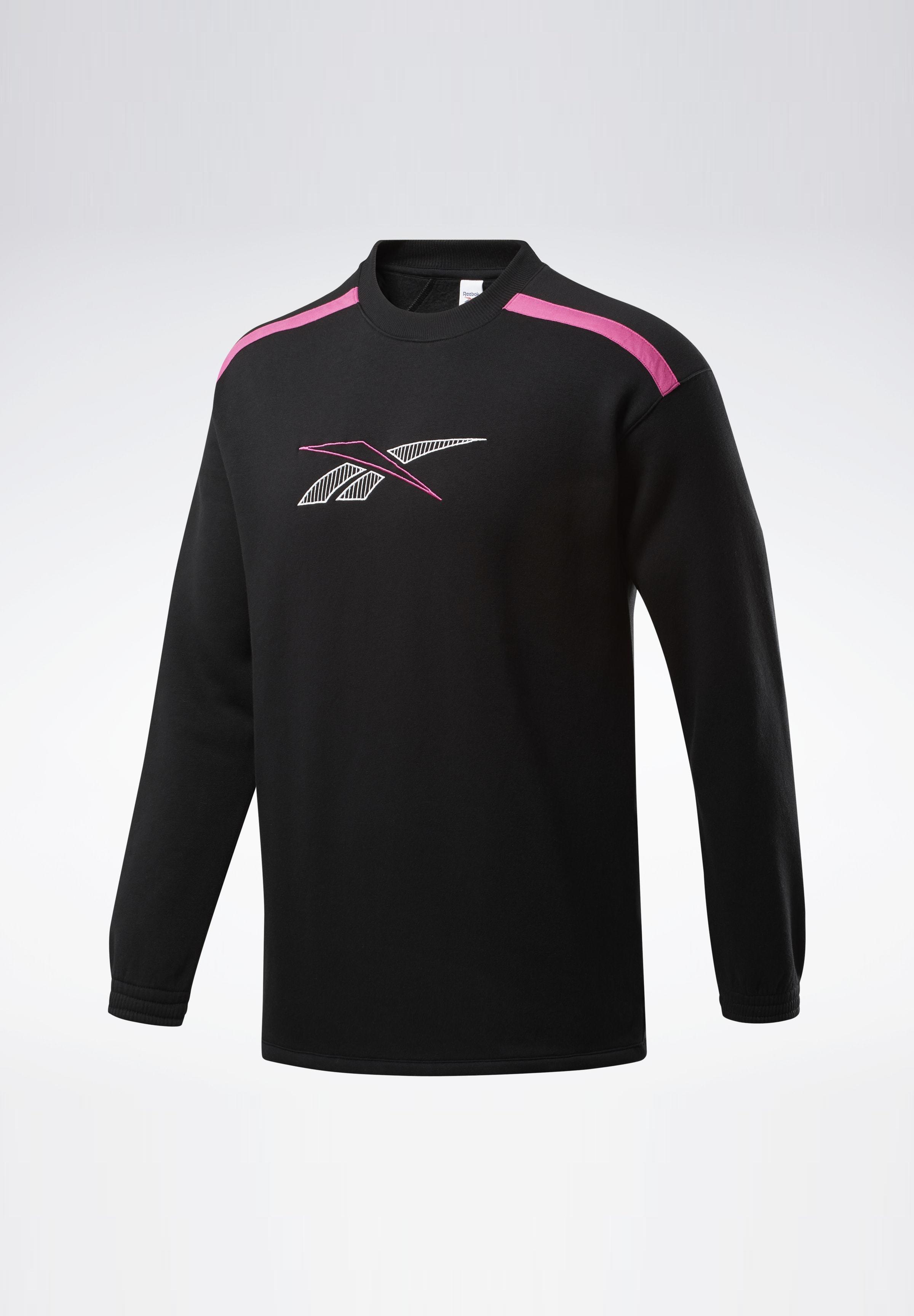Reebok Classic LASSICS TEAM SPORTS CREW SWEATSHIRT - Sweatshirt - black