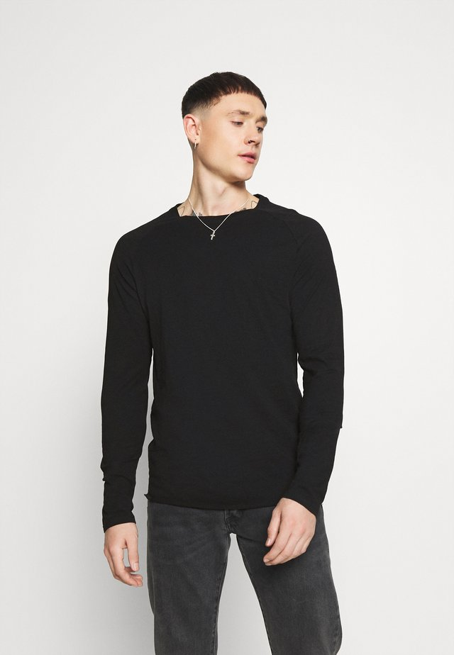 MICHAEL TEE - Camiseta de manga larga - black