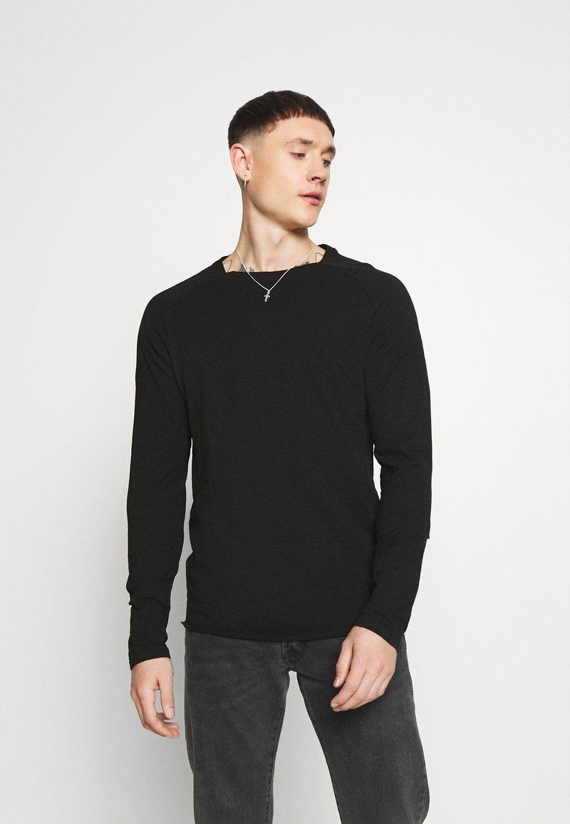 Redefined Rebel - MICHAEL TEE - Long sleeved top - black