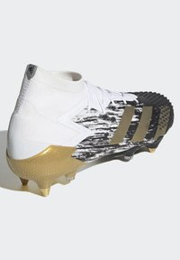 adidas Performance - Moulded stud football boots - white - 4