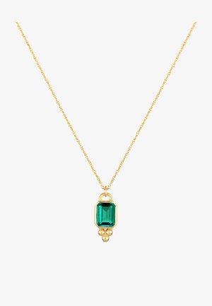 ELEGANT GEDREHT ACHTECK  - Halsband - gold