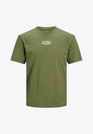Camiseta estampada - martini olive