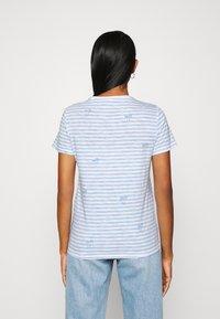 ONLY - ONLBONE LIFE TOP BOX - Print T-shirt - bright white - 2