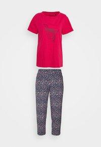 Schiesser - SET - Pyjamas - fuchsia - 5