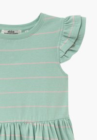 Ebbe - NICOLETTE - Žerzejové šaty - mint/bubble pink - 3