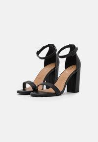 Rubi Shoes by Cotton On - SAN SQUARE TOE - Sandały - black - 2