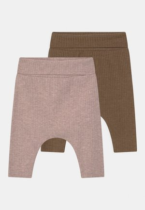 NBFFELLY 2 PACK - Trousers - desert palm/col sphinx