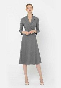 Deni Cler Milano - Sukienka letnia - grey - 0
