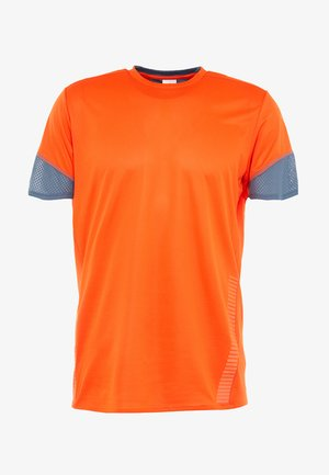 TEE  - T-shirt med print - orange
