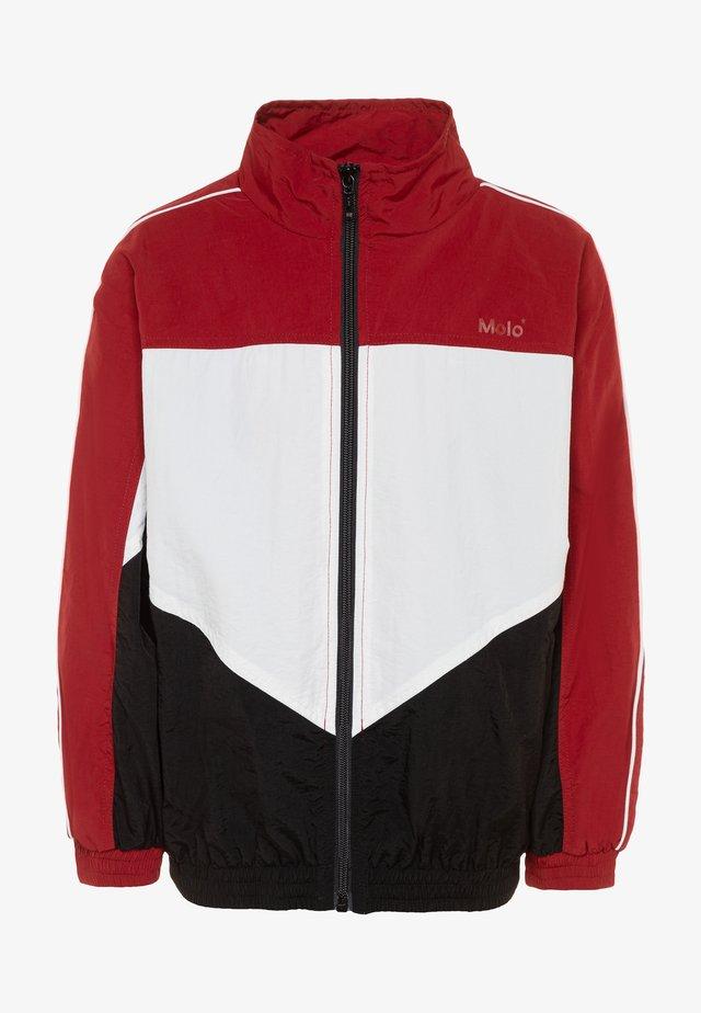 MILLUM - Training jacket - dark red