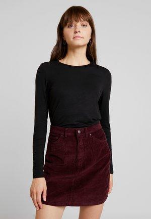 VMAVA - Maglietta a manica lunga - black