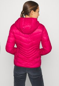 CMP - WOMAN JACKET FIX HOOD - Winter jacket - magenta - 2