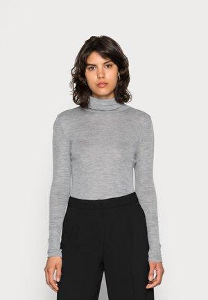 WILMA ROLLNECK - Jersey de punto - light grey