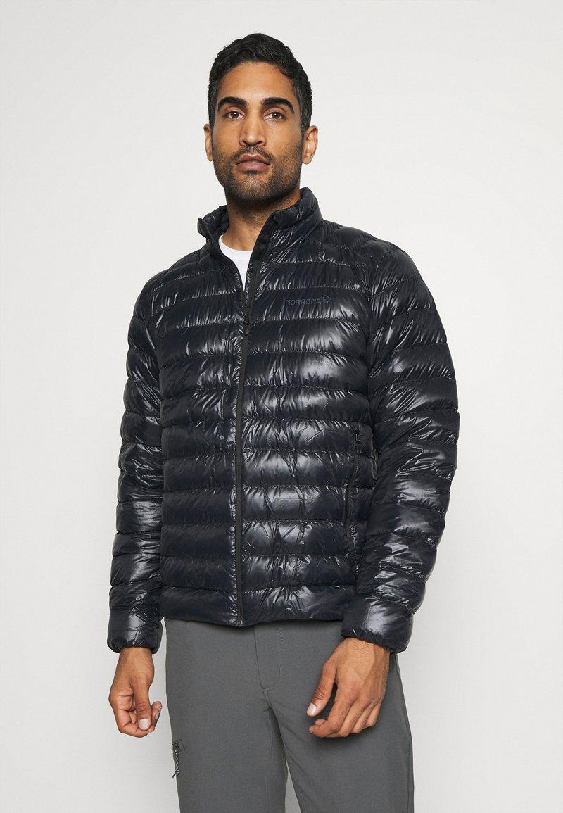 Norrøna - LIGHTWEIGHT JACKET - Down jacket - black