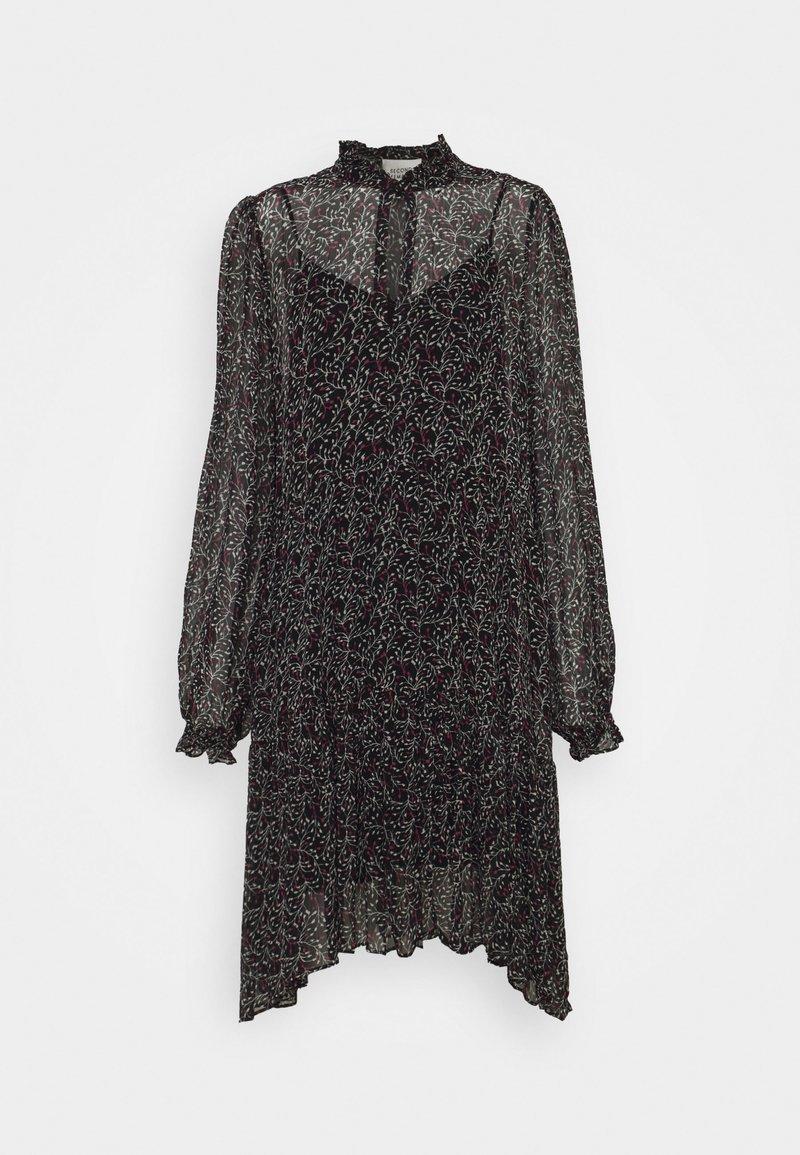 Second Female - KAYLAN DRESS - Denní šaty - black