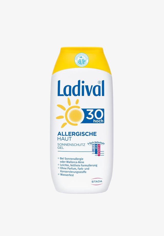 SONNENSCHUTZ ALLERGISCHE SONNENSCHUTZ HAUT  GEL LSF 30 - Sun protection - -