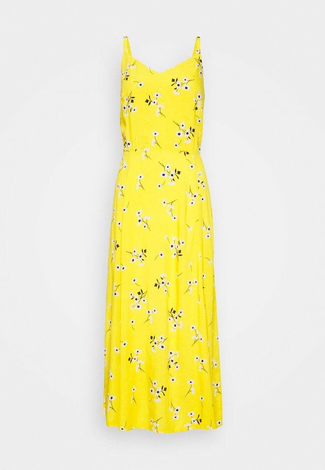 CAMI MIDI - Korte jurk - yellow
