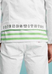 Guess - SLIM - Denim jacket - weiß - 4