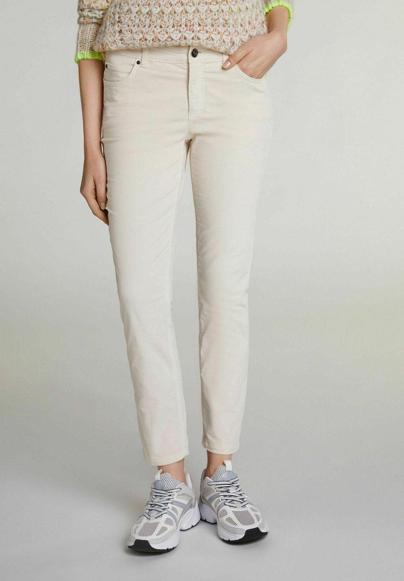 Oui - Trousers - whitecap gray