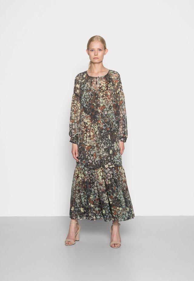 DRESS - Maksimekko - dark khaki