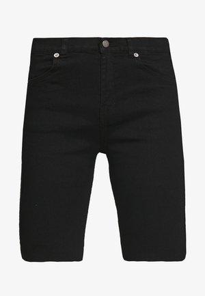 LEXY BICYCLE - Denim shorts - black