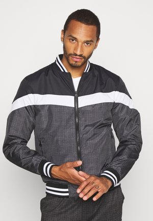 WOODVALE - Bomber Jacket - black/charcoal