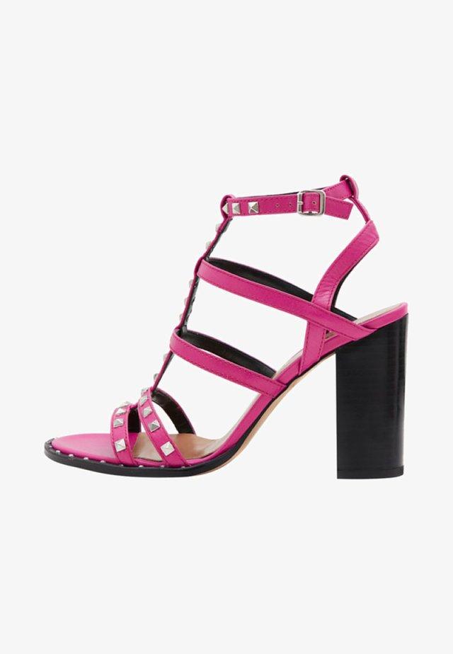 ANIA - High heeled sandals - fuchsia