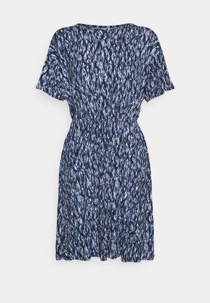 LISA  - Jersey dress - cashmere blue