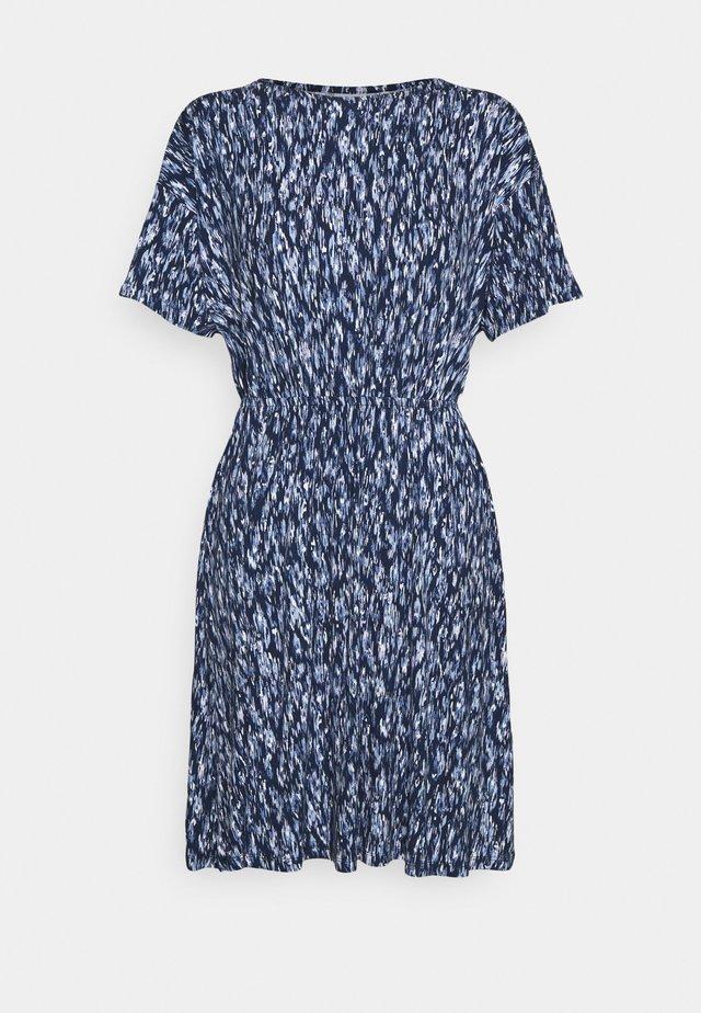 LISA  - Jerseykjole - cashmere blue