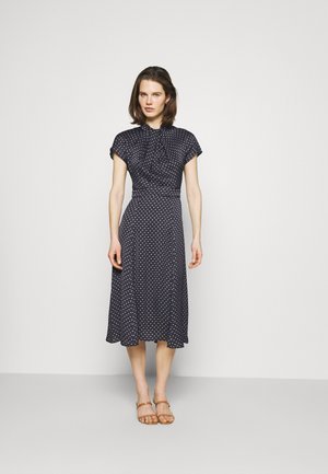 FOULARD MIDI DRESS - Day dress - desert sky