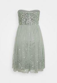 Maya Deluxe - BANDEAU EMBELLISHED DRESS - Cocktail dress / Party dress - soft sage green - 1
