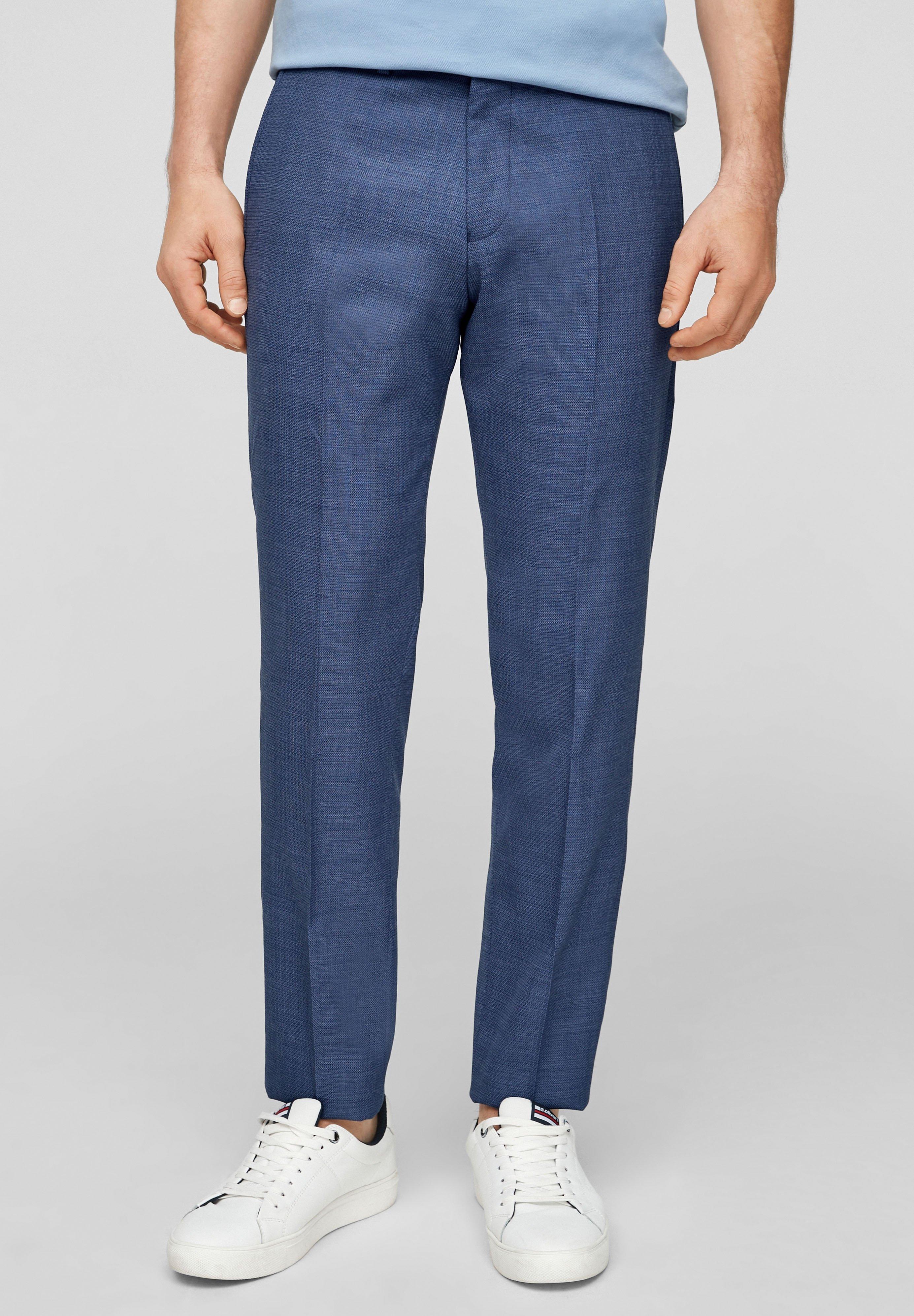 Homme SLIM FIT: SLIM LEG-HOSE - Pantalon classique