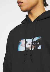 Vintage Supply - SHOOK GREMLINS HOODIE - Sweatshirt - black - 5