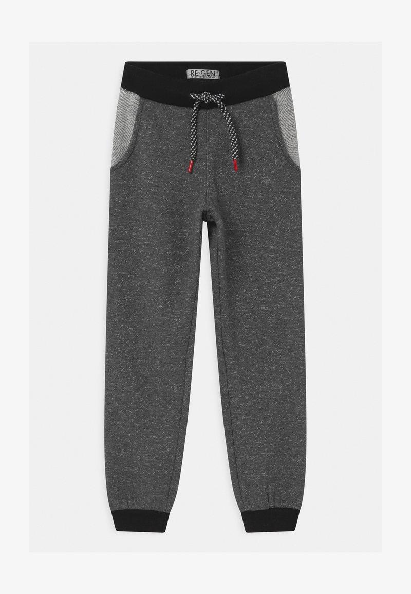 Re-Gen - Teplákové kalhoty - dark grey melange