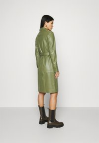 Oakwood - INDIANA - Sukienka koszulowa - dark green - 2
