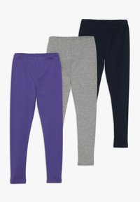 Friboo - 3 PACK - Leggings - navy blazer/grey marl/black - 0