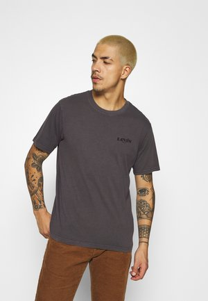 SS RELAXED FIT TEE UNISEX - T-shirt imprimé - anthracite/black