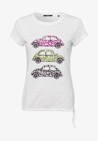 zero - Print T-shirt - offwhite - 4