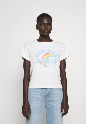 CLASSIC TEE EQUALITY - T-shirt print - vintage white