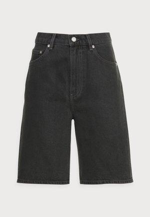 Jeansshorts - black wash
