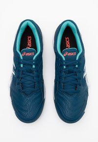 ASICS - GEL-DEDICATE 6 INDOOR - Tenisové boty na umělý trávník - mako blue/white - 3